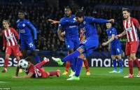 Hòa Atletico Madrid, Leicester chia tay Champions League