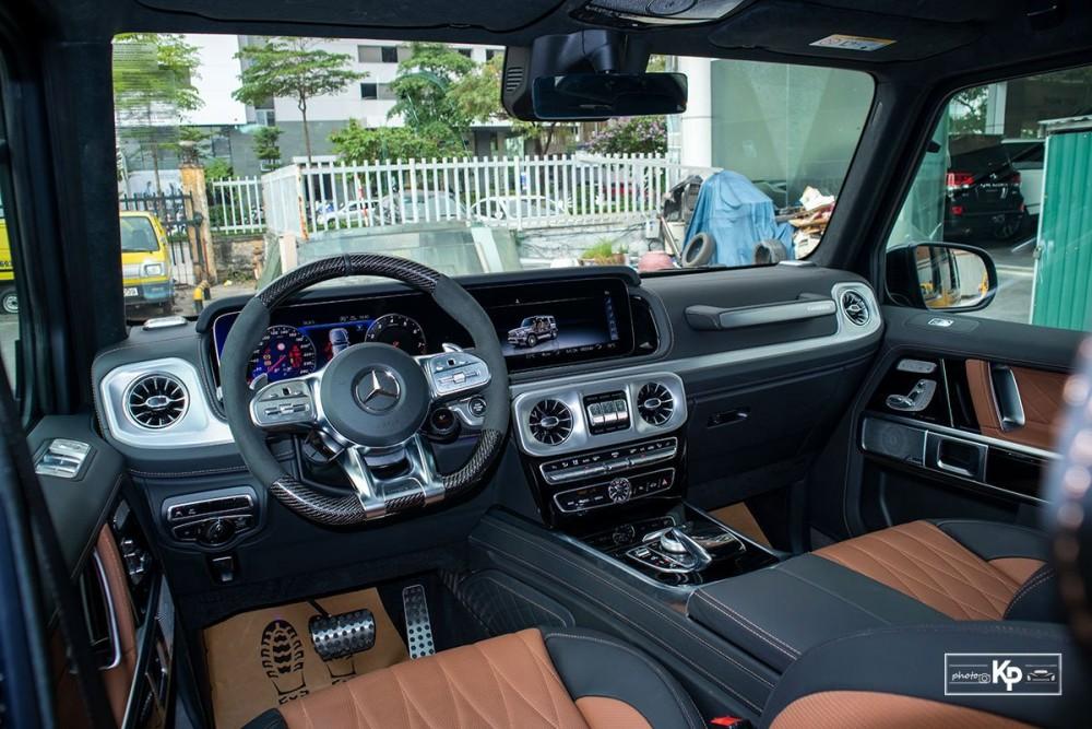 Hàng lạ về Việt Nam: Mercedes-AMG G63 ngầu hơn với bản độ Hofele