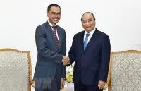 Thủ tướng Nguyễn Xuân Phúc tiếp Đại sứ Malaysia chào từ biệt