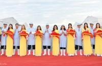 Thủ tướng Nguyễn Xuân Phúc dự khánh thành khu sản xuất cá tra giống trên sông Tiền
