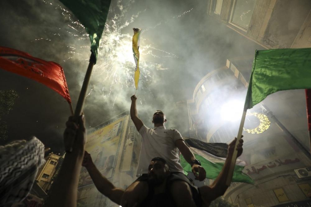 Cảm xúc vỡ oà của người dân Palestine trước thoả thuận ngừng bắn giữa Israel Hamas