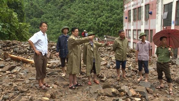 Hình ảnh Hà Giang bị 'bao vây' trong nước lũ, Nhà máy thủy điện Thái An dừng hoạt động hoàn toàn