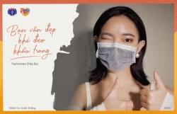 Chung tay phòng chống Covid-19, sao Việt truyền thông điệp 'Bạn vẫn đẹp khi đeo khẩu trang'