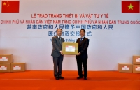 Vietnam hands over medical equipment to China for nCoV combat