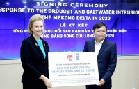 undp assists mekong delta to cope with drought and saltwater intrusion