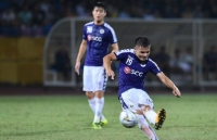Midfielder Quang Hai named among leading freekick takers during AFC Cup 2019
