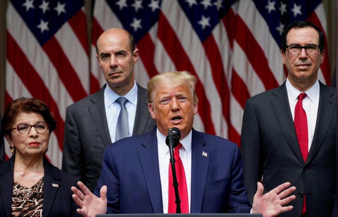 Tổng thống Donald Trump lạc quan về đà phục hồi của kinh tế Mỹ hậu Covid-19