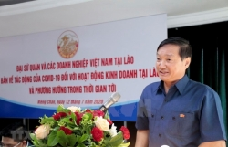 talk discusses covid 19 impact on vietnamese firms in laos
