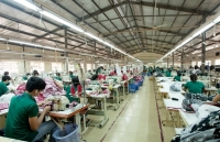 vietnams textile export value up almost 7 pct in eight months