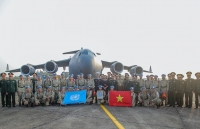 ministry bids farewell to peacekeepers to join un peacekeeping mission