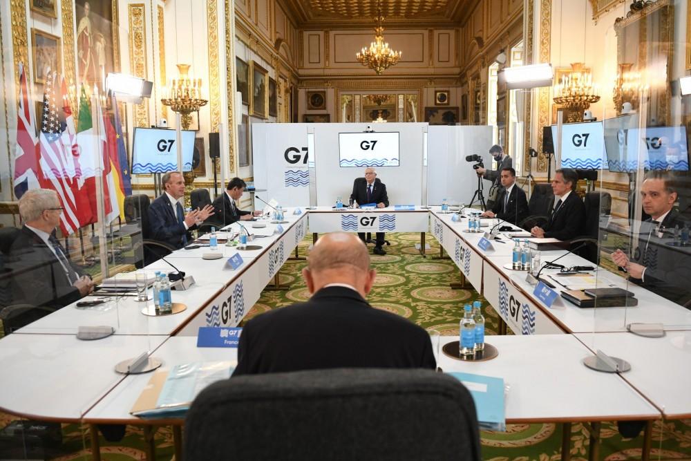 Hội nghị Ngoại trưởng G7 tìm cách lập 'chiến tuyến' ứng phó Trung Quốc? (Nuồn: PA)