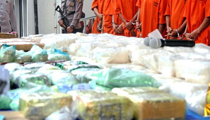 Indonesia triệt phá đường dây buôn ma túy quốc tế lớn. (Nguồn: irshadgu)