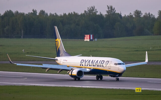 Vụ máy bay Ryanair: Belarus nói nhận thư đe dọa từ Hamas, phe đối lập 'cầu viện Mỹ', Nga bị lôi vào cuộc. (Nguồn: AP)