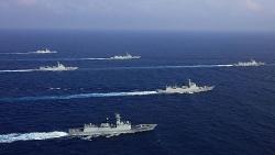 Mỹ phản đối, Philippines cảnh giác việc Trung Quốc tập trận trên Biển Đông