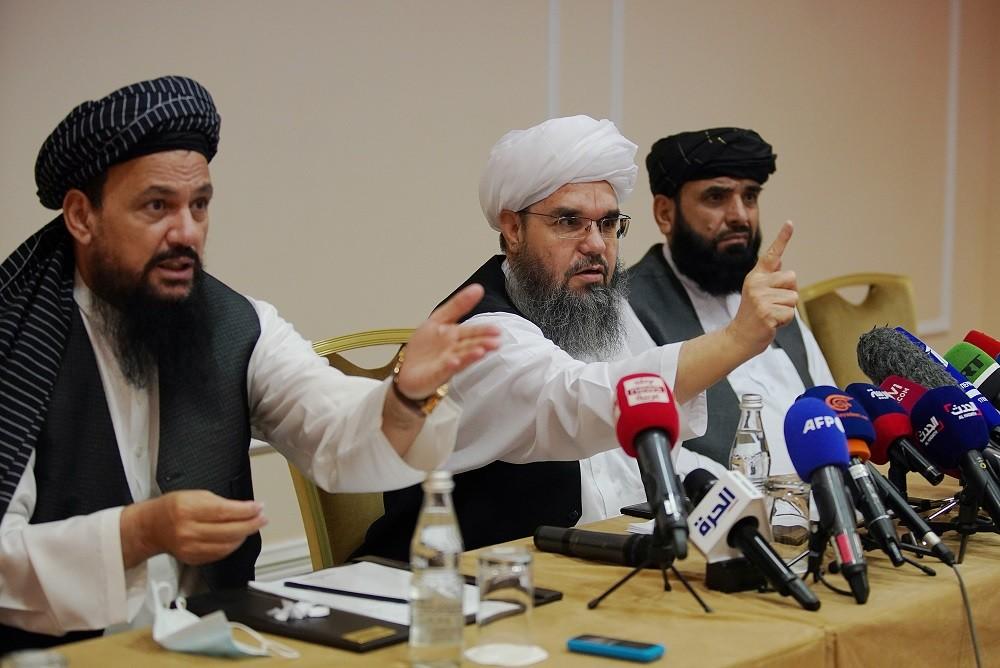 Afghanistan: Nga tuyên bố Taliban bị đặt ngoài vòng pháp luật, phản pháo cáo buộc lập 'giao kèo chính trị'. (Nguồn: Reuters)