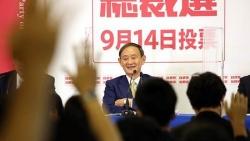 Nhật Bản: Giành chiến thắng lịch sử, tân Chủ tịch LDP Suga nói gì?