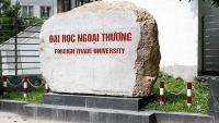 Đại học Ngoại thương dừng tổ chức kỳ thi phối hợp với Đại học Quốc gia Hà Nội