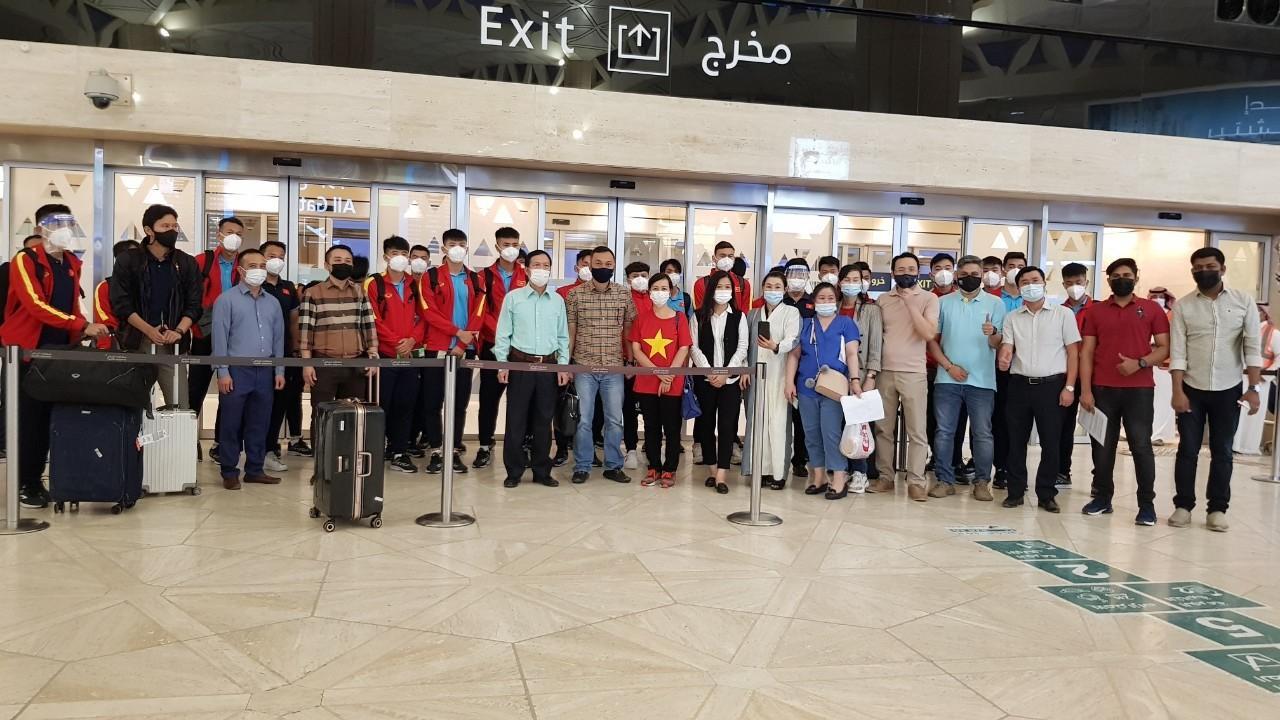 Chuyến bay đặc biệt ngày 3/9 từ Saudi Arabia