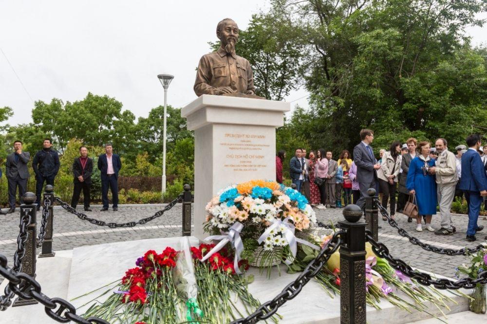 Quảng trường Hồ Chí Minh ở Vladivostok - Nơi giao thoa của tình hữu nghị Việt - Nga