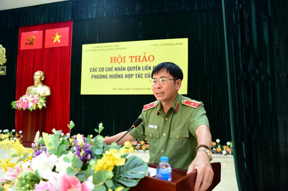 Thiếu tướng Nguyễn Văn Kỷ, Phó Chánh Văn phòng VPTT Ban Chỉ đạo về Nhân quyền Chính phủ.