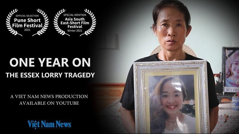 Phim tài liệu của báo Việt Nam News về thảm kịch xe tải Essex tham dự Liên hoan phim Pune