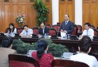 Thủ tướng làm việc với Hiệp hội Doanh nghiệp nhỏ và vừa