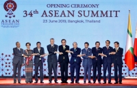 pm concludes trip to attend 34th asean summit in thailand