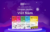 an pham harvard business review lan dau ra mat tai viet nam