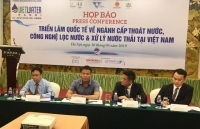 vietwater 2019 co hoi tiep can cong nghe loc va xu ly nuoc moi tai viet nam