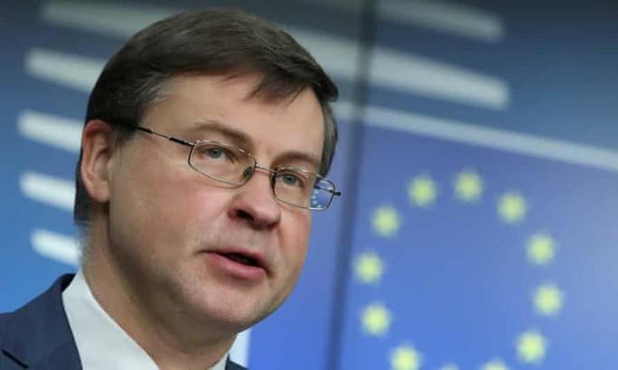 Phó Chủ tịch Ủy ban châu Âu (EC) Valdis Dombrovskis