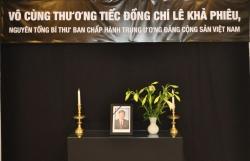 Đại sứ quán Việt Nam tại Brazil và Na Uy tổ chức lễ viếng nguyên Tổng Bí thư Lê Khả Phiêu