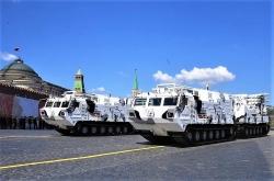 Màn trình diễn của vũ khí mới trong Ngày Chiến thắng ở Nga