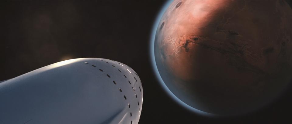 SpaceX tham gia cuộc đua tới Sao Hỏa