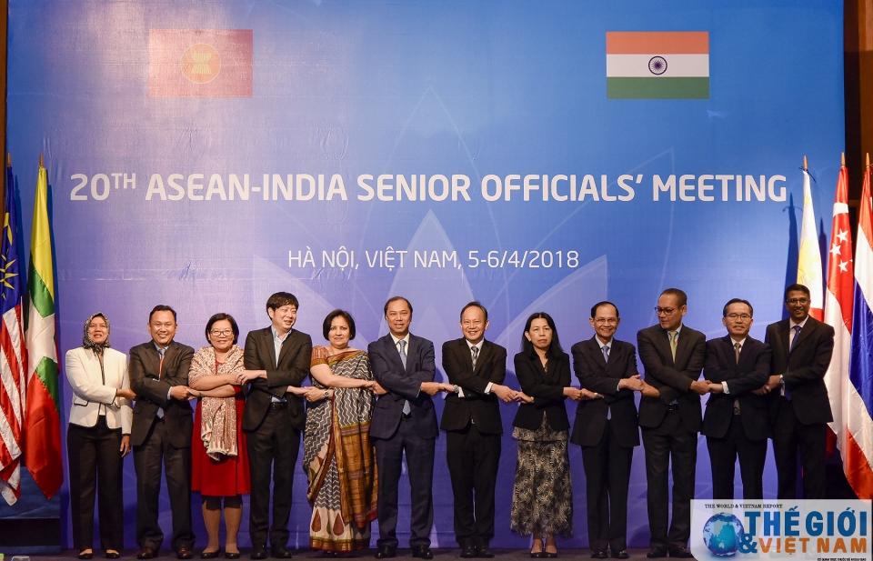 Đẩy mạnh hợp tác về thương mại - đầu tư giữa ASEAN và Ấn Độ