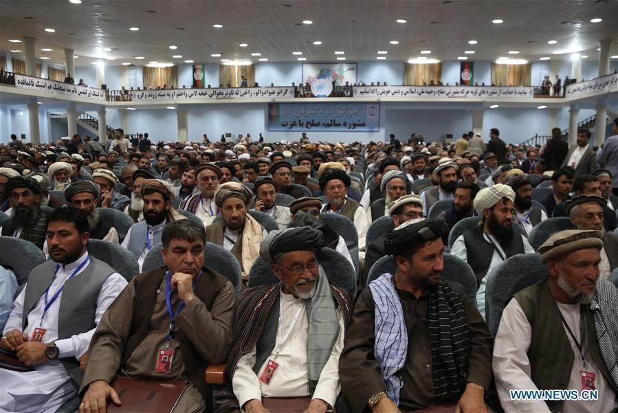 afghanistan to chuc hoi nghi hoa binh lon nhat trong lich su