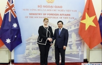 vietnam regarded as one of australias key partners in sea