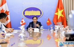 vietnam canada hold deputy foreign ministerial level political consultation