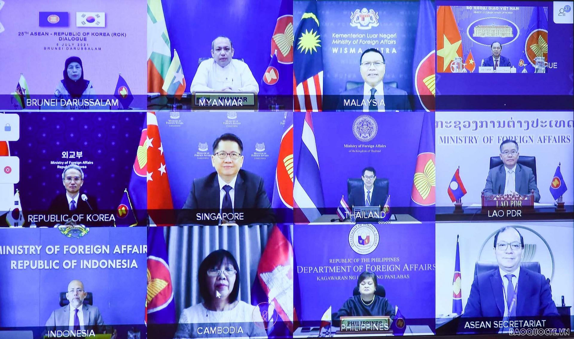 Thứ trưởng Ngoại giao Nguyễn Quốc Dũng dự Hội nghị ASEAN-Hàn Quốc