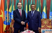 presidents visit to help promote trade ties with ethiopia egypt