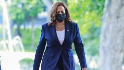 Những hình ảnh bận rộn của Phó Tổng thống Mỹ Kamala Harris tại Việt Nam