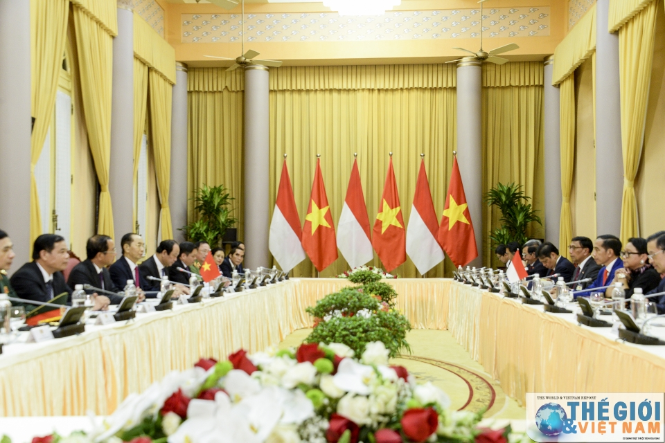 vietnam indonesia presidents look to lift two way trade to 10 billion usd
