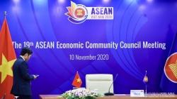 ASEAN 37: Các Bộ trưởng Kinh tế ASEAN rà soát lại tình hình thực hiện các ưu tiên sáng kiến