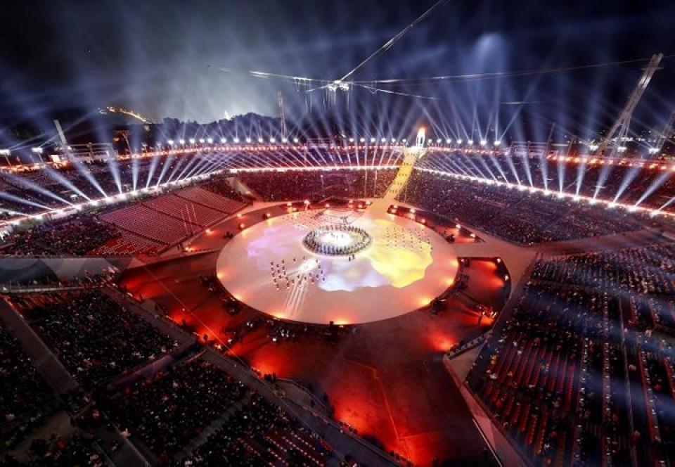 man trinh dien sac mau ngoan muc trong be mac olympic pyeongchang