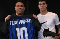 "Ronaldo ""béo"" dự sinh nhật Inter Milan"