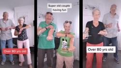 Nhảy cha cha cha với chồng, cụ bà 81 tuổi trở thành ngôi sao mạng