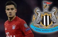 newcastle tien de arsenal va man utd de chieu mo coutinho