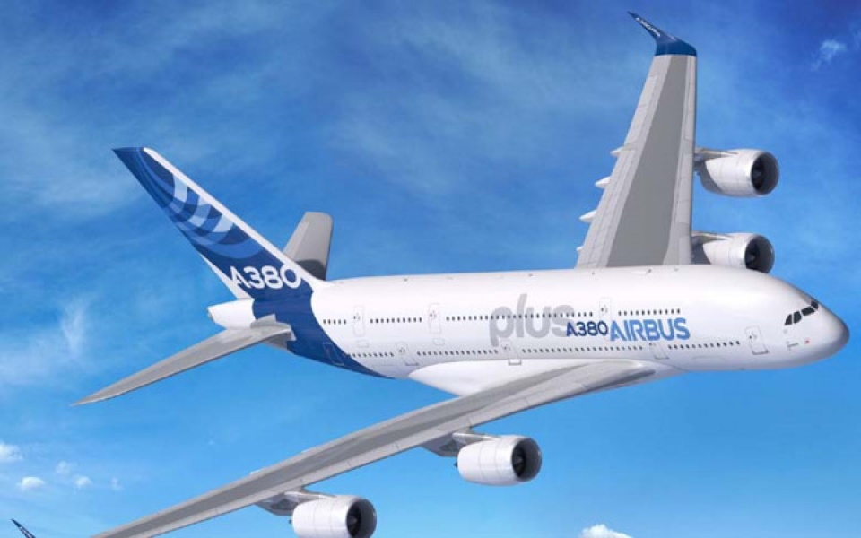 airbus a380 plus may bay lon nhat the gioi