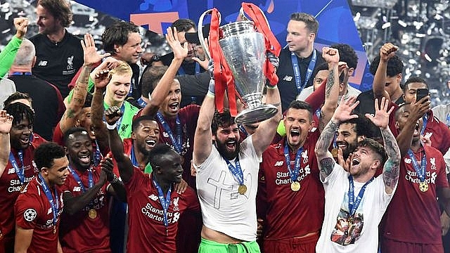 Image result for liverpool vô địch champions league