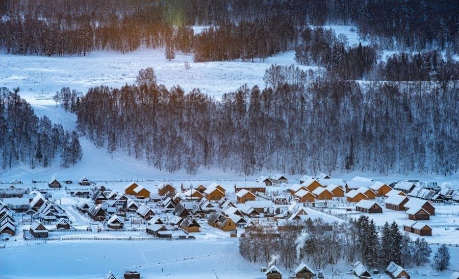 Ngắm cảnh bốn mùa ở ngôi làng đẹp nhất Trung Quốc