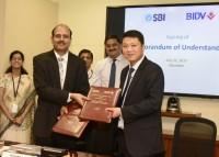 BIDV ký Thỏa thuận Hợp tác toàn diện với Ngân hàng lớn nhất Ấn Độ